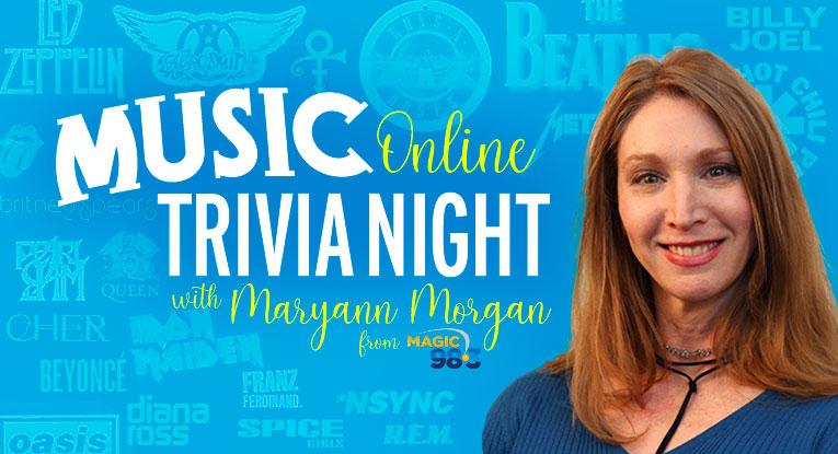 Music Online Trivia Night