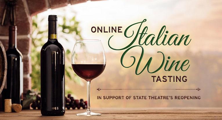 online Italian Wine Tasting